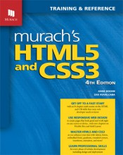 web design books - HTML5 and CSS3 - Murach