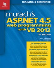 visual basic programming books - Murach's ASP.net 4.5 Web Programming